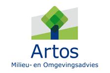 Logo ontworpen voor Artos milieu- en omgevingsadvies