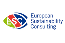 Logo ontworpen voor European Sustainability Consulting