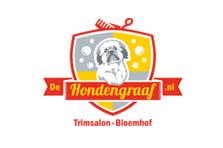 Logo uitgevoerd voor De Hondengraaf