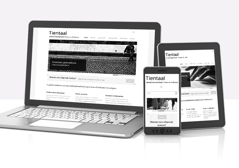 Website | Tientaal