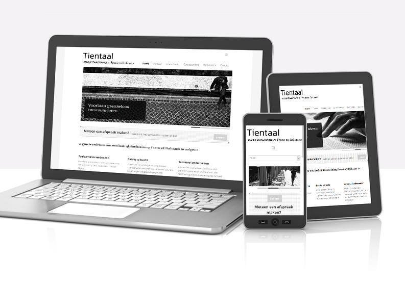 Website | Tientaal
