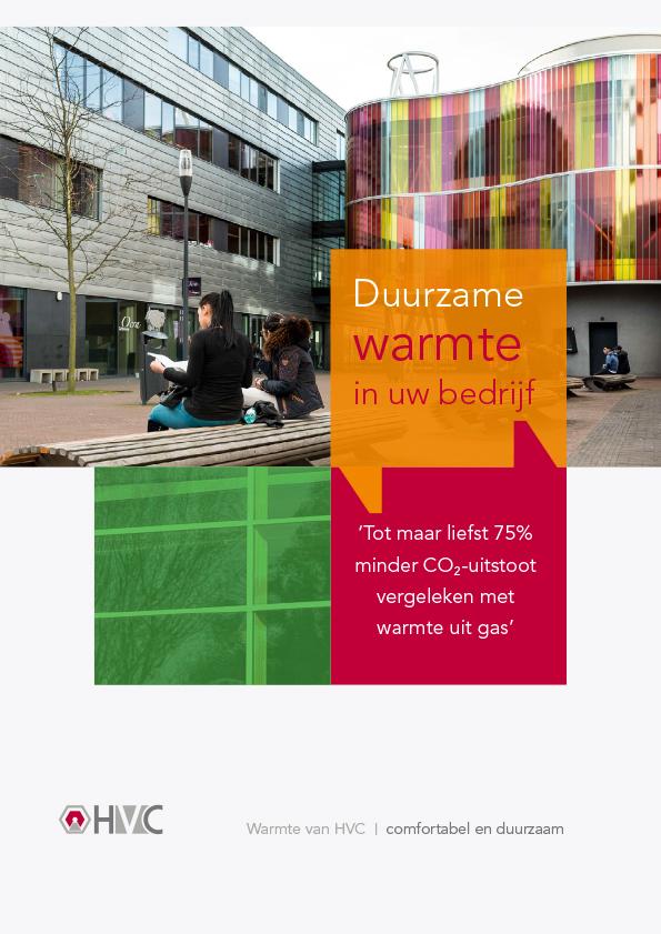 Warmte uit Duurzame bron - brochure